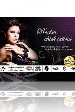 Tatouages Rocker Chick - Rocker Chick Tattoos: 36 tatouages exclusifs pour jouer aux Groupies enflammées.