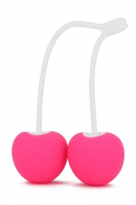 Boules de Geisha Cherry Love - Pour le Fun, le plaisir et la musculation du périnée, adoptez les boules de Geisha cerises de la marque Love To Love.