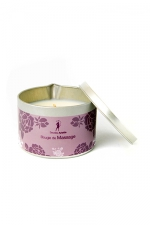 Bougie de massage Fruits Défendus - Bougie de massage parfum Fruits Défendus fabriquée en France pour des moments sensuels.
