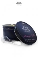 Bougie de massage - Fifty Shades of Grey - Bougie de massage  Massage Me , goûtez aux caresses sensuelles d'un massage érotique