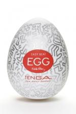 Tenga Egg party - Keith Haring - Masturbateur Tenga EGG Party , un sextoy collector avec design et texture exclusive.