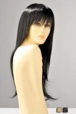 Perruque Brenda - Perruque longue avec une frange, ses mèches lisses vous donnent une allure sensuelle et féminine.