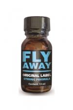 Poppers Fly Away - Fly Away est un poppers aux effets intenses, à base d'isopropyle, en flacon concentré de 13ml.