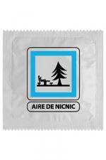 Préservatif humour - Aire De Nic Nic - Préservatif  Aire De Nic Nic , un préservatif personnalisé humoristique de qualité, fabriqué en France, marque Callvin.