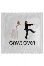 Préservatif humour - Game Over - Préservatif  Game Over , un préservatif personnalisé humoristique de qualité, fabriqué en France, marque Callvin.