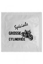 Préservatif humour - Grosse Cylindrée - Préservatif  Grosse Cylindrée , un préservatif personnalisé humoristique de qualité, fabriqué en France, marque Callvin.